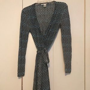 DVF Wrap Dress Size Small